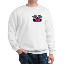 HOT PINK RACE CAR Sweatshirt