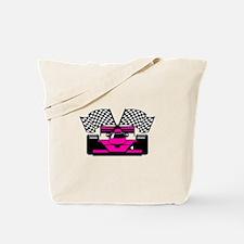 HOT PINK RACE CAR Tote Bag