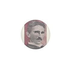Tesla-1 Mini Button (10 pack)