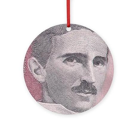 Tesla-1 Ornament (Round)
