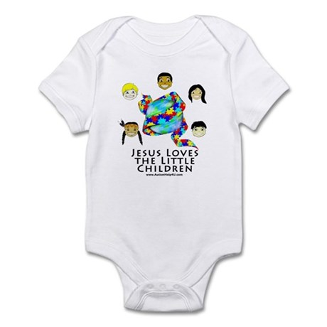 Jesus Loves Infant Bodysuit