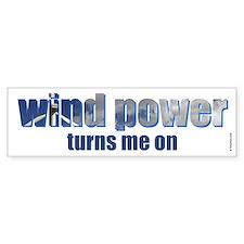 Wind Power Bumper Bumper Bumper Sticker