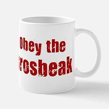 Obey the Grosbeak Mug