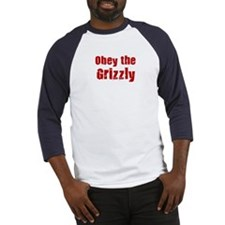 Obey the Grizzly Baseball Jersey