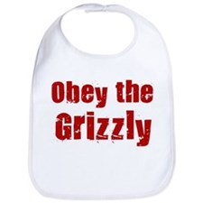 Obey the Grizzly Bib