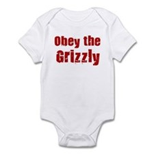Obey the Grizzly Infant Bodysuit