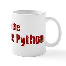 Obey the Green Tree Python Mug