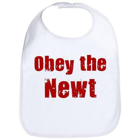 Obey the Newt Bib