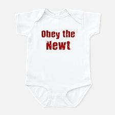 Obey the Newt Infant Bodysuit
