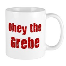 Obey the Grebe Mug