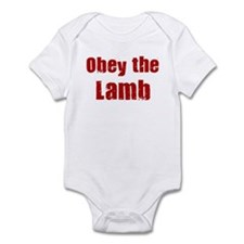 Obey the Lamb Infant Bodysuit