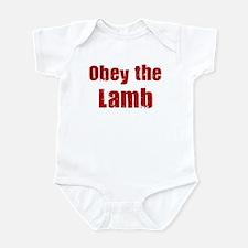 Obey the Lamb Infant Bodysuit