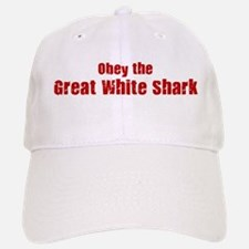 Obey the Great White Shark Baseball Baseball Cap
