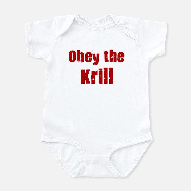 Obey the Krill Infant Bodysuit