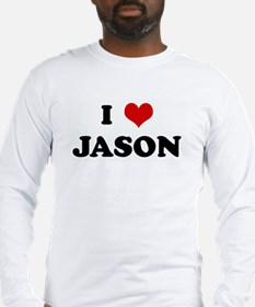 I Love JASON Long Sleeve T-Shirt