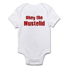 Obey the Mustelid Infant Bodysuit