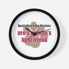 Australian Silky Terriers woman's best friend Wall