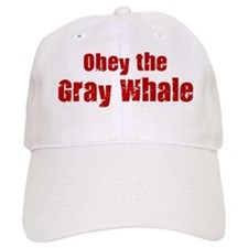 Obey the Gray Whale Baseball Cap
