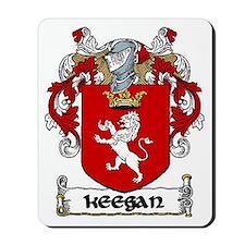 Keegan Coat of Arms Mousepad