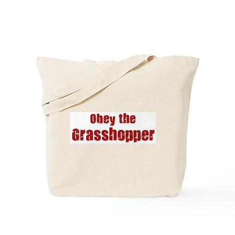 Obey the Grasshopper Tote Bag
