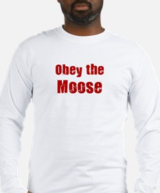 Obey the Moose Long Sleeve T-Shirt