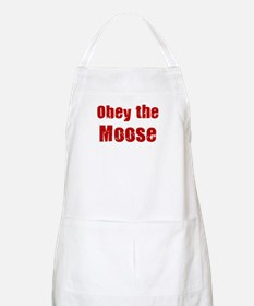 Obey the Moose BBQ Apron