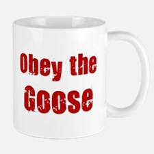 Obey the Goose Mug