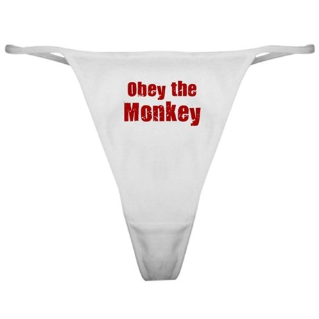 Obey the Monkey Classic Thong