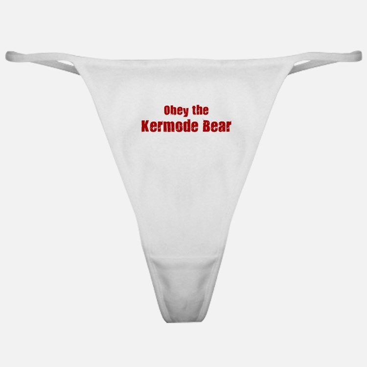 Obey the Kermode Bear Classic Thong