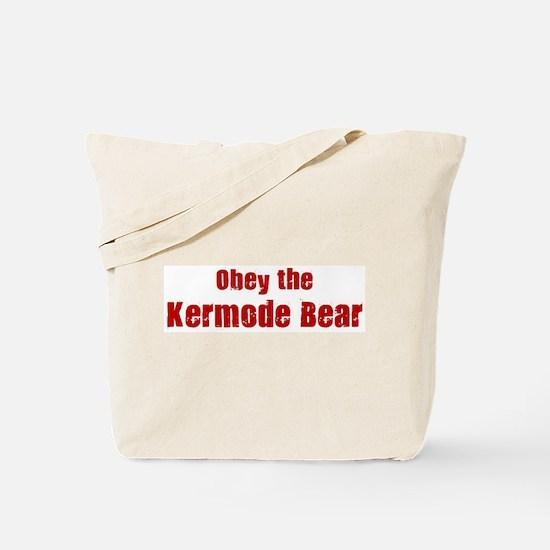 Obey the Kermode Bear Tote Bag