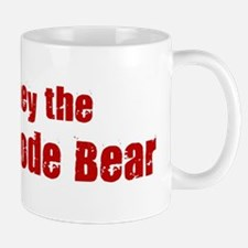 Obey the Kermode Bear Mug