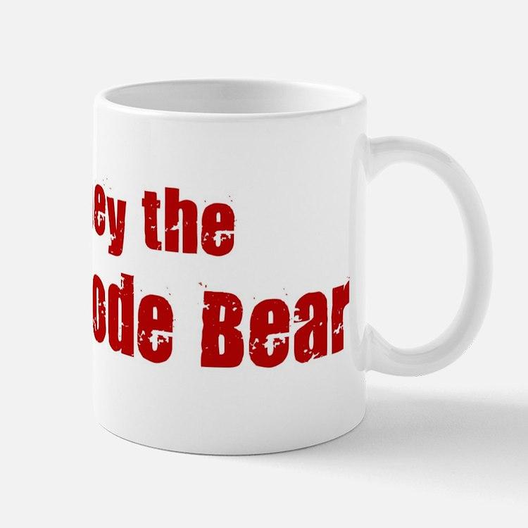 Obey the Kermode Bear Mug
