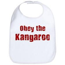 Obey the Kangaroo Bib