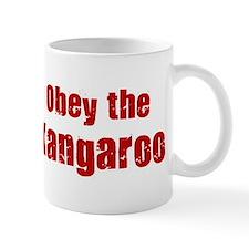 Obey the Kangaroo Mug
