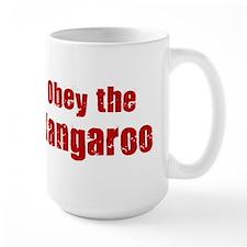 Obey the Kangaroo Coffee Mug