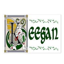 Keegan Celtic Dragon Postcards (Package of 8)