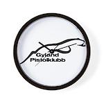 Gyland Pistolklubb Wall Clock