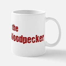 Obey the Ivory-Billed Woodpec Mug