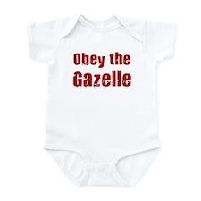 Obey the Gazelle Infant Bodysuit