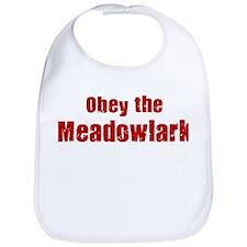 Obey the Meadowlark Bib