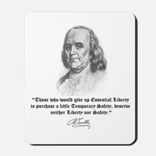Ben Franklin Mousepad