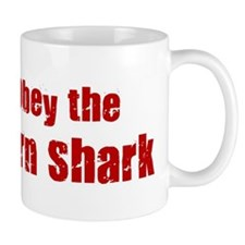 Obey the Horn Shark Mug