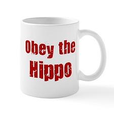 Obey the Hippo Mug