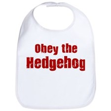 Obey the Hedgehog Bib