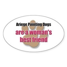 Ariege Pointing Dogs woman's best friend Decal