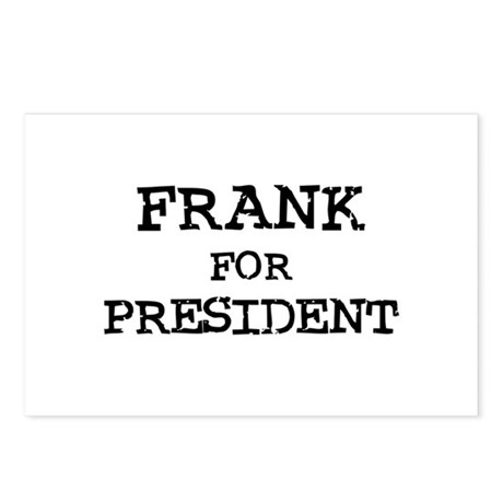 Frank for President Postcards (Package of 8)