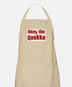 Obey the Quokka BBQ Apron