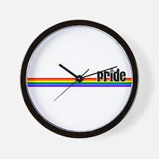 Pride Line Wall Clock
