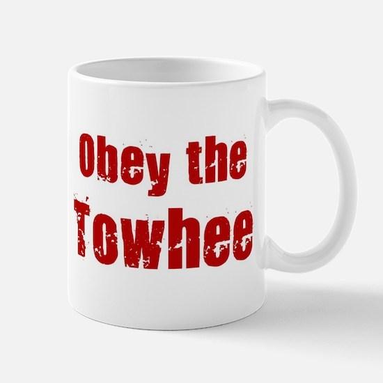 Obey the Towhee Mug