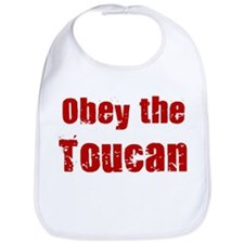 Obey the Toucan Bib